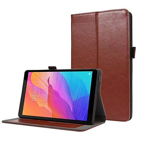 HHF Pad Accesorios para Lenovo Tab M10 FHD Plus 10.3 X606F, Folio Flip Tablet Funda Cubierta Shell para Lenovo Tab M10 TB-X605F HD (2nd Gen) TB-X306F 10.1 (Color : Marrón, Talla : Tab M10 TB X605F)