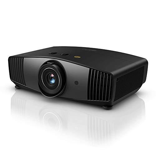 BenQ Proiettore DLP W5700 Home Cinema (4K UHD, HDR, 100% DCI-P3, 100% Rec. 709, 1800 ANSI Lumen, 100.000:1 Contrasto, HDMI)