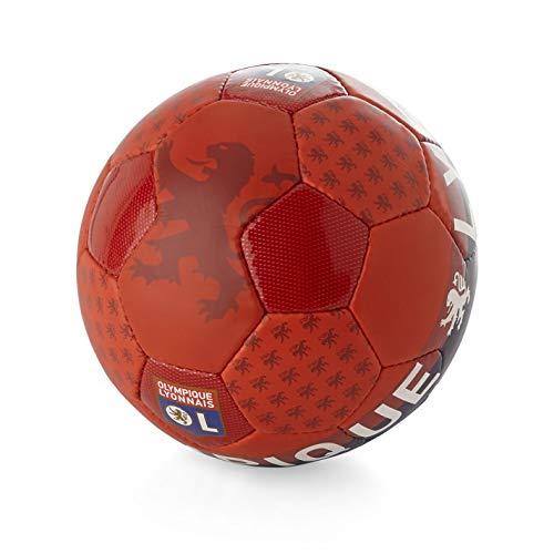 Ol boutique Lyon balón Supporter T5–Balón Fútbol Ocio–Rojo–Talla única