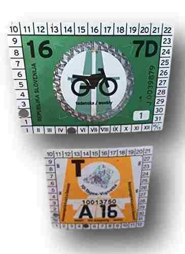 Clear-Screen Kombiset 2 x Trägerfolie Haftfolie 10 x 15 cm für je 2 x Vignette Maut o.a.