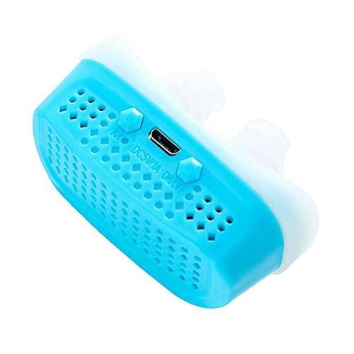 Yowerf Electric USB Silicone Antidree Dilators Nasal Dilators Apnea Ayuda Dispositivo Stop Stop Snoringing Aparato De Respiración del Clip De La Nariz