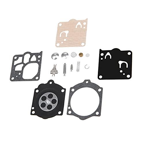 LKANG Piezas de carburador de Motocicleta Carbohidrato de carburador Kit de reconstrucción Juego Diafragma Adecuado para la reemplazo de la Sierra de Cadena MS660 K10-WJ