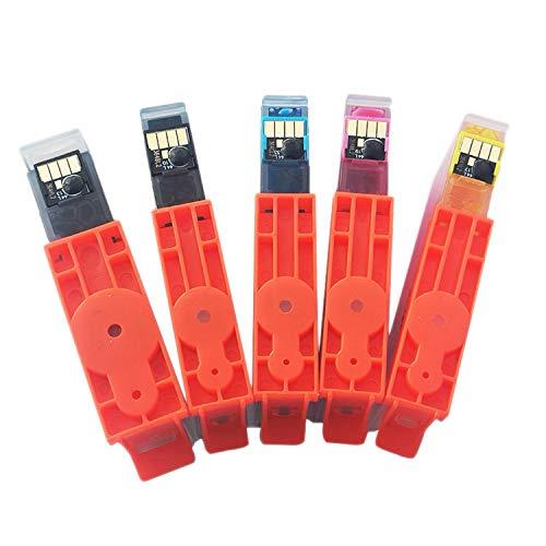 Fauge Cartuchos de Impresora Cartucho de Chip para HP364XL HP364 Cartuchos de Tinta Deskjet 3070A / 3520/3522/3524 Officejet 4620