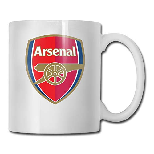 Premier League Arsenal Kaffeetasse, Keramik, 325 ml, Weiß