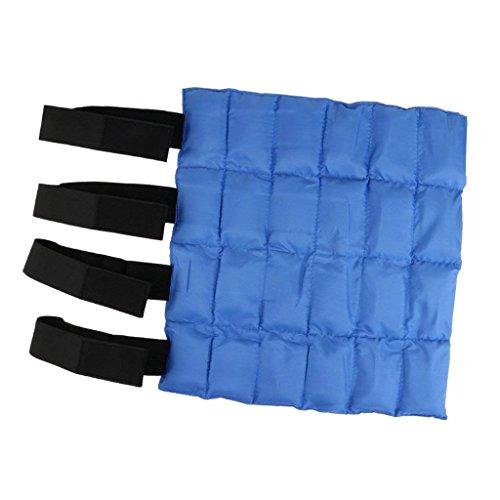SGerste - Protector de Vendaje para Botas de Hielo de Caballo, Protección Delantera, Color Azul