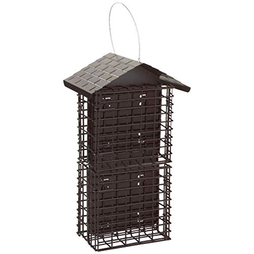 Stokes Select Four Cake Suet Buffet Bird Feeder with Metal Roof, Four...