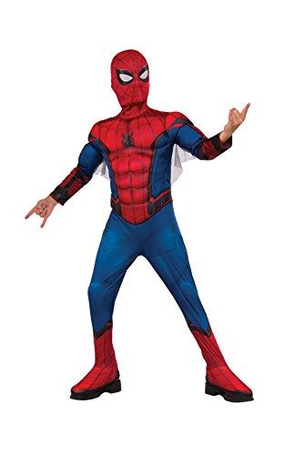 Marvel - Disfraz de Spiderman Premium con músculos para niños, infantil 3-4 años (Rubie's 630731-S)