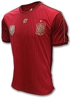 DRAPS CENTER S.L. Camiseta Oficial Real Federación Española de Fútbol. Selección Española.