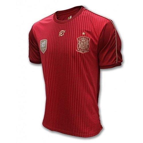 DRAPS CENTER S.L. Camiseta Oficial Real Federación Española - Talla S