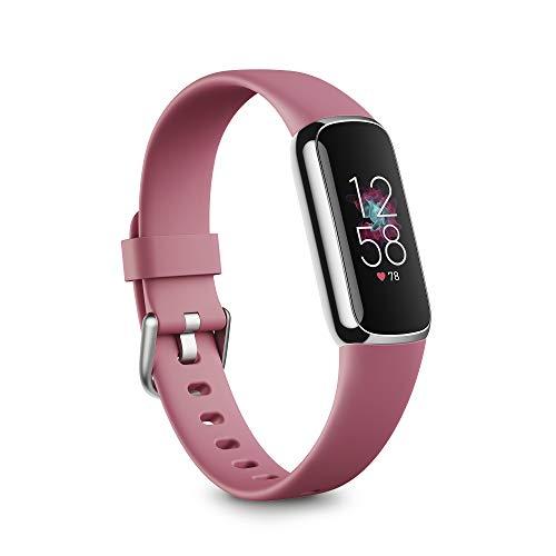 Fitbit Luxe: Tracker für Fitness & Wohlbefinden mit bis zu 5 Tagen Akku, Stressmanagement-Tools und Aktivzonenminuten