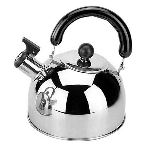 Matago Hervidor de agua de acero inoxidable con silbato y mango ergonómico,...