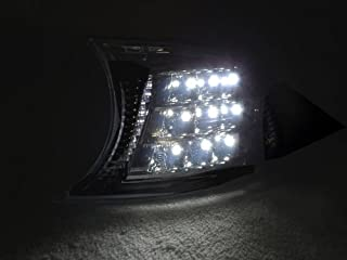 REVi MotorWerks Screw On White LED Smoke Corner Signal Lights by DEPO fit for 02-03 BMW E46 Coupe/Convertible + 02-06 M3 Models