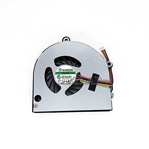DBTLAP Ventilador de la CPU del Ordenador portátil para Acer Aspire 5742G 5741G 5252 5552G 5741 5551 5551G TravelMate 5742 5740G Ventilador