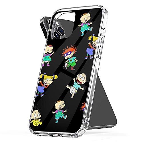 Carcasa de teléfono Personalizada Compatible con 90sRugrats11 Samsung iPhone Xiaomi Redmi Note 10 Pro Note 9 8 9A Poco M3 Pro Poco X3 Pro Funda Protector Antideslizante Transparente Puro