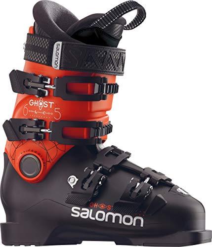 Salomon Ghost LC 65 Ski Boots Kid's Black/Orange Sz 5.5 (23.5)