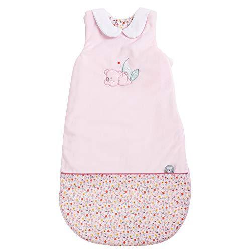 Nattou 631457 - Saco de dormir para todo el año koala iris, tog 1.9, 70 cm, iris y lali, rosa/blanco, niñas