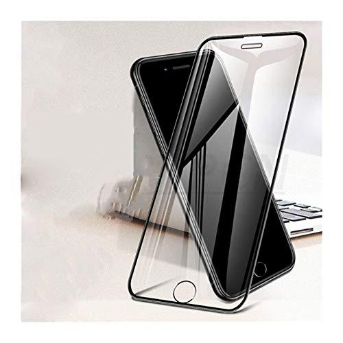HUIY Protector de Pantalla 500D Curvado Cristal Protector, Conveniente for el iPhone SE 2020 6 6S 7 8 Plus Vidrio Templado Film Película de telefonía (Color : For iPhone 11 ProMax, Size : White)