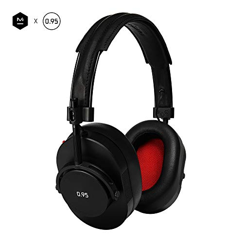 Master & Dynamic MH40 Over-Ear Headphones with Wire - Noise Isolating with Mic Recording Studio...