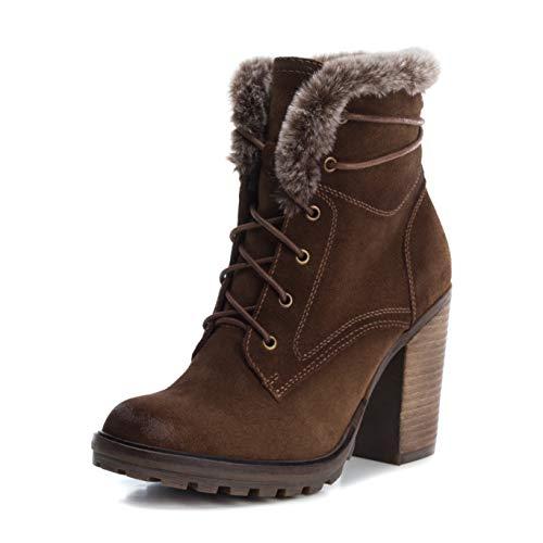Carmela by Xti Footwear 66382 Stiefelette Ankle Boots (40 EU, Camel)