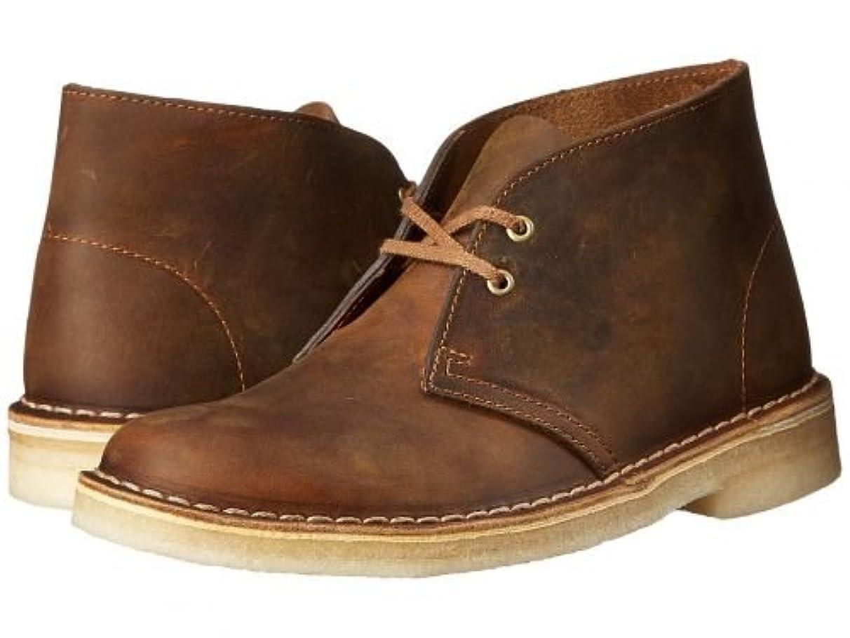 スパイ木材気づく[クラークス] レディース 女性用 シューズ 靴 ブーツ チャッカブーツ アンクル Desert Boot - Beeswax Leather 2 [並行輸入品]