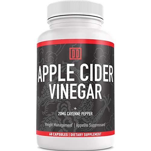 Apple Cider Vinegar Capsules - Sugar Free, No Artificial Flavors or...