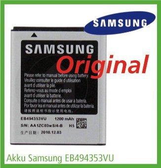 Akku Samsung EB494353VU 1200mAh Li-Ion 3,7V für das Samsung S7230E Wave 723, 1 Stück