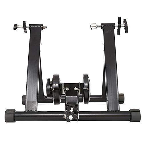 WOGQX Bike Trainer Stand, Bike Rollers Indoor Bicycle Bike Trainer 26-28 Inch Home Exercise Fitness Stand Bicycle Parts Road MTB Training Accessories Kit
