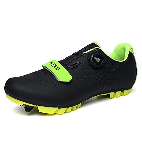Zapatillas de Ciclismo MTB para Hombres Mujer Zapatillas De Bicicleta de Montaña...