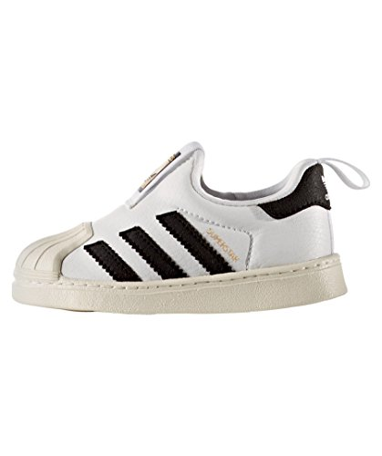 Adidas Originals Superstar 360 Niños Zapatillas Blanco/Negro/Blanco 21 EU