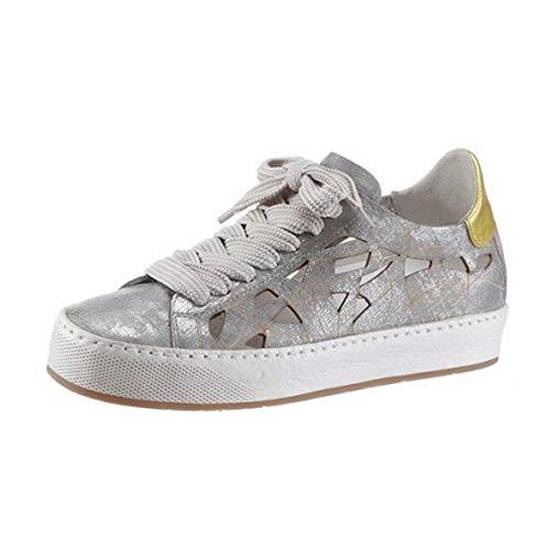 A.S.98 Airstep Damen Leder Sneaker Schnürschuhe Schuhe Metalic Silber : EUR 35 Schuhgröße EUR 35