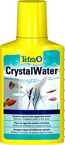 Tetra CrystalWater 100 ml - Elimina el enturbiamiento del agua del acuario en cuestión de horas