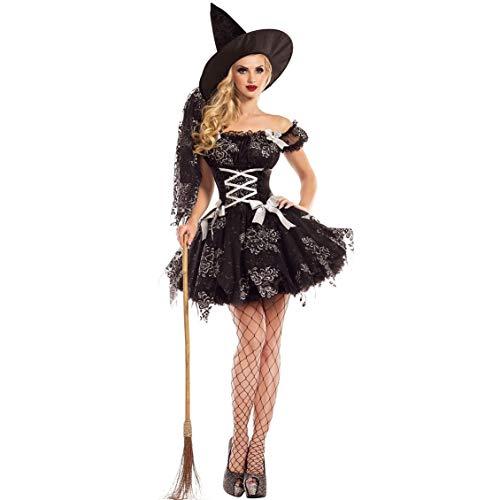 Shenme Cosplay de Las Mujeres Ropa de Halloween Trajes, Uniformes del Diablo de Halloween de la Bruja del Traje de Cosplay Juego