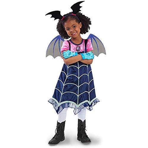 Vampirina - Disfraz de deisign de Media Manga para celebración de Fiesta
