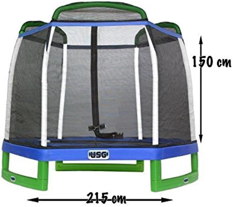 ofrecemos varias marcas famosas USG USG USG csl406trampolín con projoección Infantil, Azul, diámetro 215cm  ahorra hasta un 80%