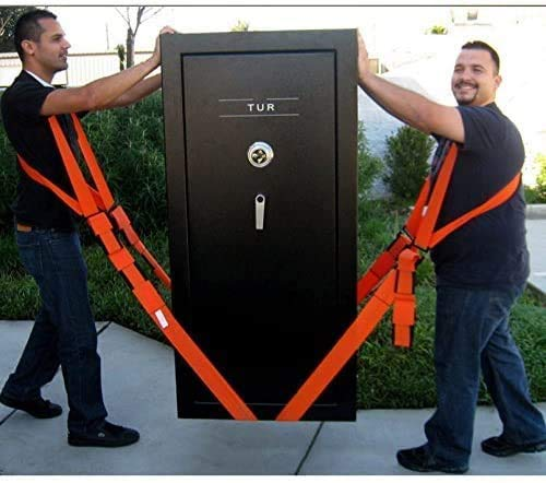 Lifting y correas móviles clasificadas para objetos, objetos pesados sin dolor de espalda, correas y arneses para 2 motores