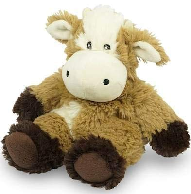 Cow Junior WARMIES Cozy Plush Heatable Lavender Scented Stuffed Animal