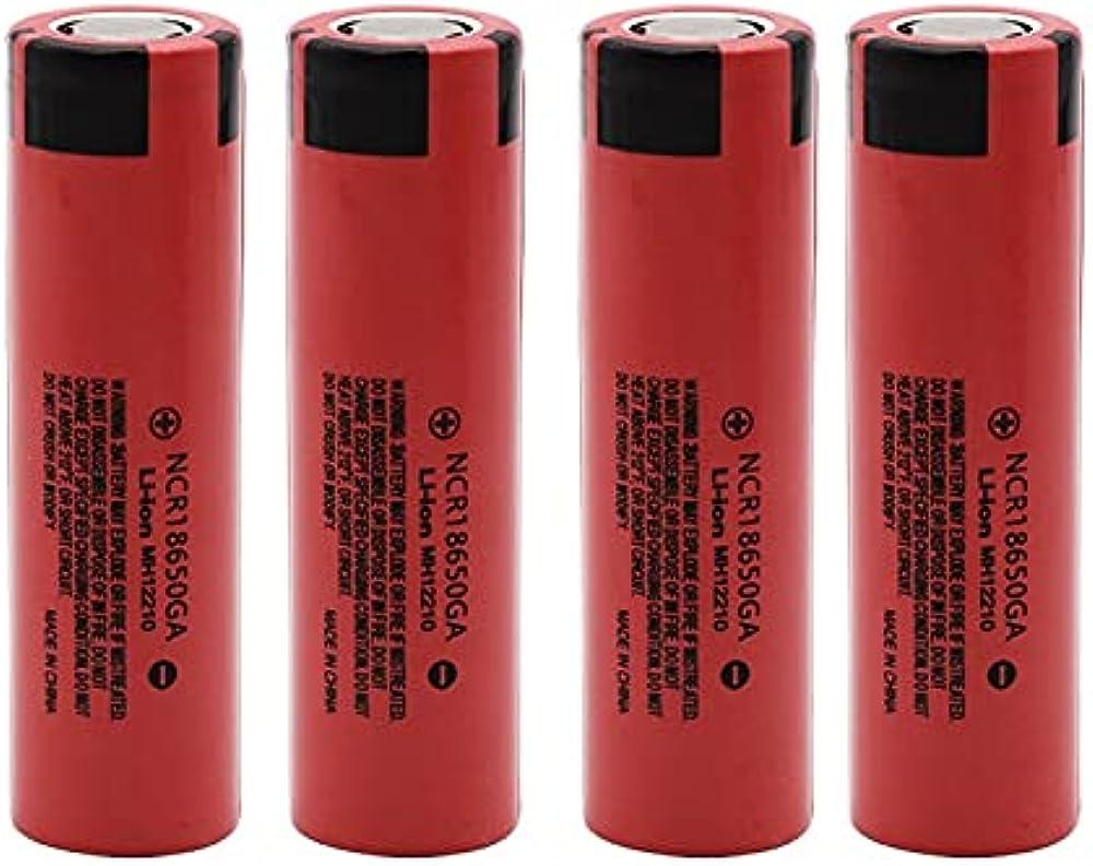 8 batterie al litio ricaricabili flat-top 30a di 3 7 v 3500 mah 18650 per sigarette elettroniche e altri usi GCLDP-M3SS2C1