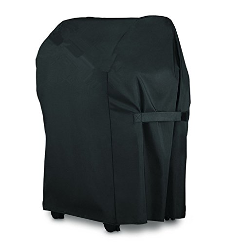Broilmann 600D BBQ Grill Cover 600D for Weber Spirit 210 Series Gas Grills, 25.8 x 42.8-Inch, Black