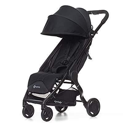 Ergobaby Metro Lightweight Baby Stroller, Compact Stroller with Easy One-Hand Fold, 2020 Stroller: Black