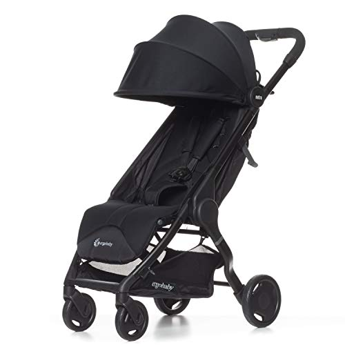 Ergobaby Metro Lightweight Baby Stroller, Compact Stroller with Easy One-Hand Fold (Carries up to 50 Pounds, 2020 Stroller: Black