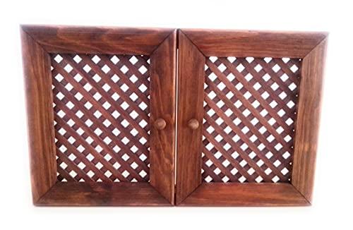 Armario Guarda Llaves o Cubre Caja Eléctrica Decorativo Celosía