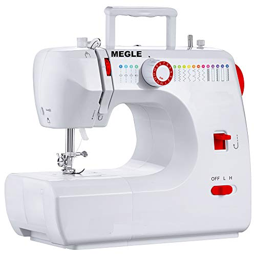 Megle Sewing Machine, FHSM-700, 16 Built-in Stitches