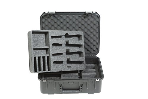 SKB 3i-1813-7WMC Stage & Studio Equipment Case for Wireless Mic Systems