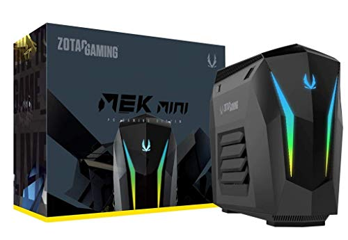 Zotac Gaming MEK MINI PC (Intel Core i5 9400f, ZOTAC GAMING GeForce RTX 2060 SUPER 8GB, 16 GB DDR4, 240 GB M.2 SSD, 1 TB 2,5