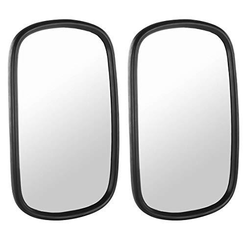 Spiegel-Set | links & rechts | 260 x 160 mm | für Fendt, Massey Ferguson, Case IH | Spiegel | Seitenspiegel | universal | Trecker | Traktor | Schlepper | Modulspiegel