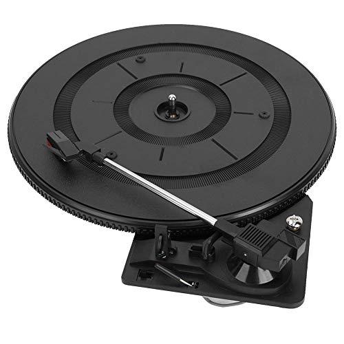Drfeify Tocadiscos, 28cm Retorno de Brazo Automático Tocadiscos Gramófono Accesorios para Instrumentos...