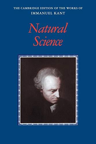 Kant: Natural Science