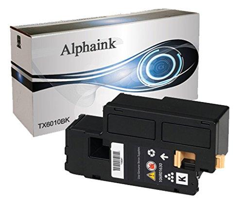 Toner Alphaink compatibile con Xerox X6010-BK,Toner compatibile nero per Xerox Phaser 6000 6010 6010VN
