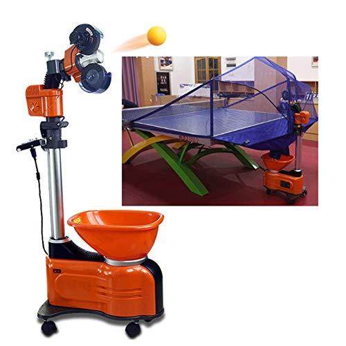 K-DD Robot de Tenis de Mesa, Máquina de Tenis de Mesa Profesional...