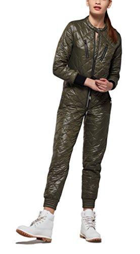 OnePiece Damen Urbanista Jumpsuit, Grün (Army), 40 (Herstellergröße: L) - 4